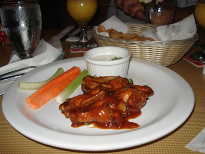 burt chicken wings