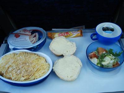 Plane Food on Plane Food