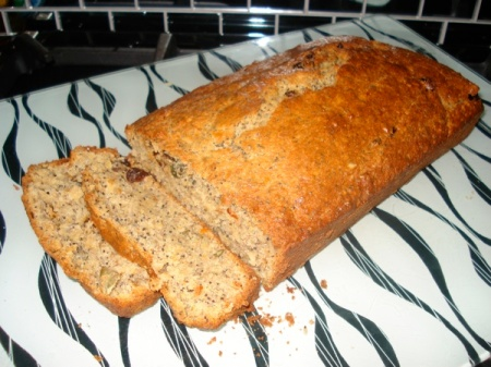 Four seed banana bread